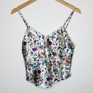 Victoria's Secret Vintage Floral Top Size Small